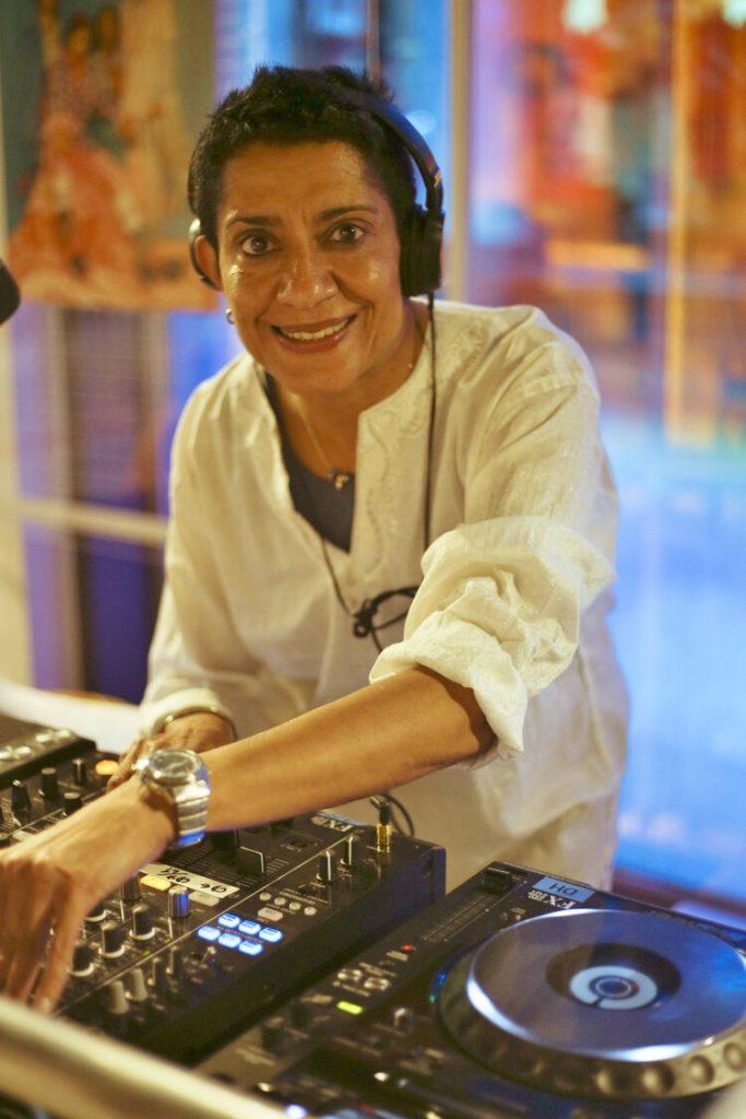 DJ Ritu by Mahaneela Choudhury-Reid - Levis Gal Dem party June 27 2019